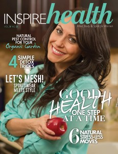 Inspire Health Cover Girl and feature story