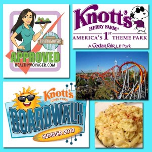 The Healthy Voyager Joins Forces With Knotts Berry Farm to Launch New Gluten Free and Vegan Food Options