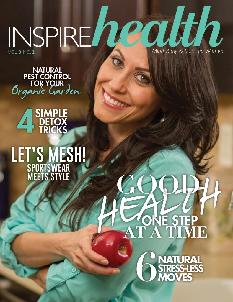 carolyn scott hamilton magazine cover inspire health